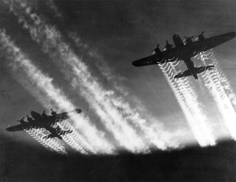 B-17 Flying Fortresses